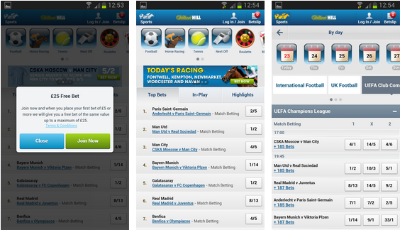 find the right william hill app for your android