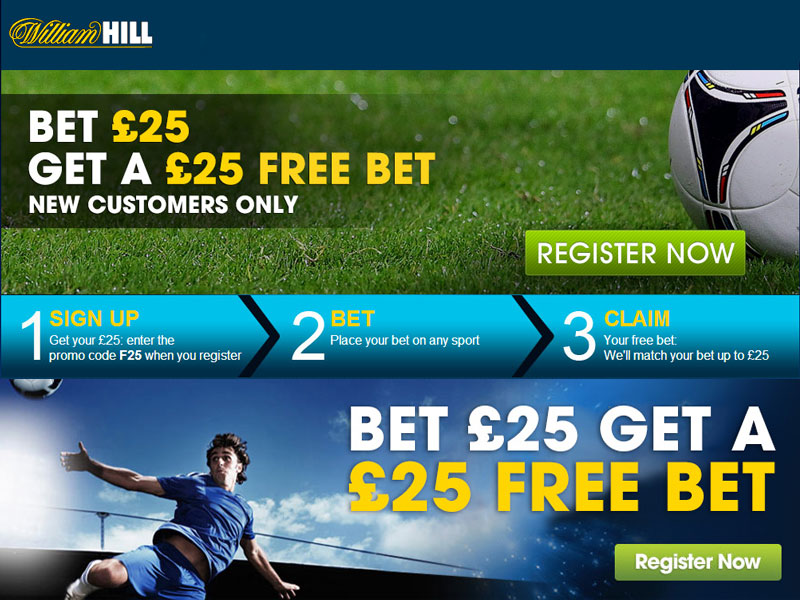 William Hill 20 Free Bet