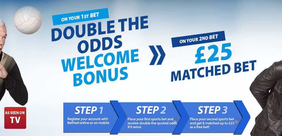 how to claim the betfred 25 gbp matched bonus