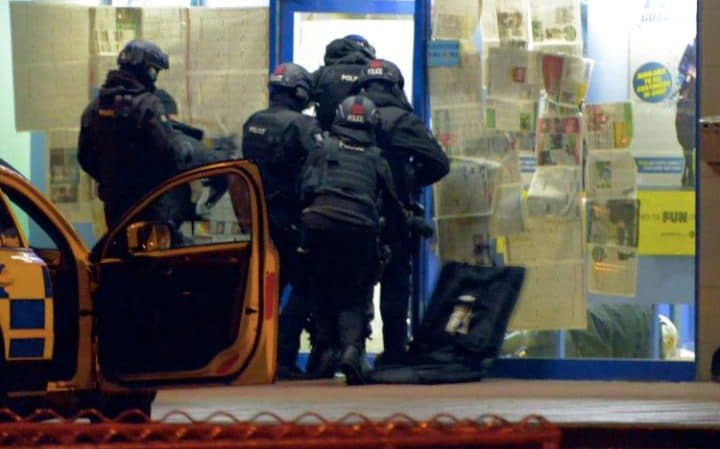 An Armed Man Was Arrested at a Bookie after Taking Hostages