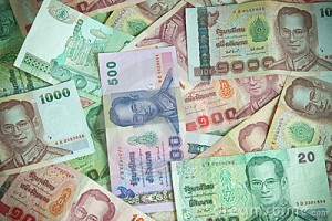 how to make a payment via thai baht in cash