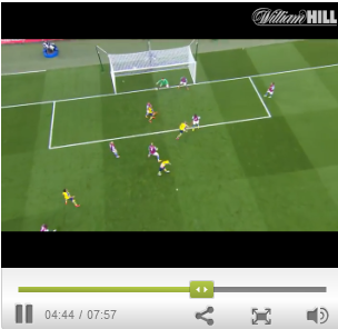 are there live streaming events at william hill