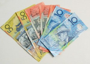 how does the money exchange with australian currency work