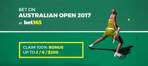 Check Out the bet365 Odds and Special Offers for the Australian Open
