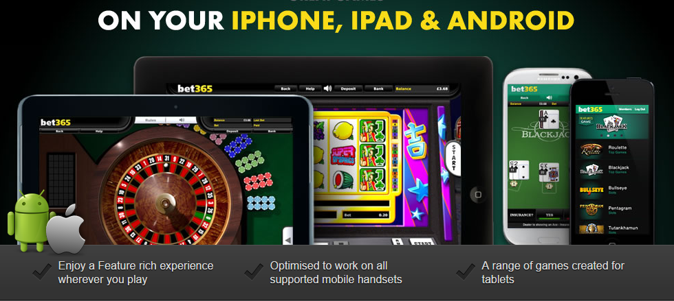which other devices are suitable for the bet365 app