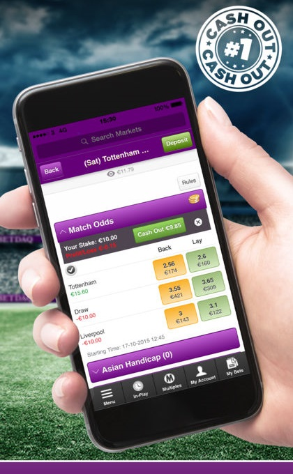 can you contact betdaq via mobile app