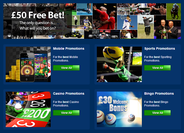 what promotions can you get from betfred