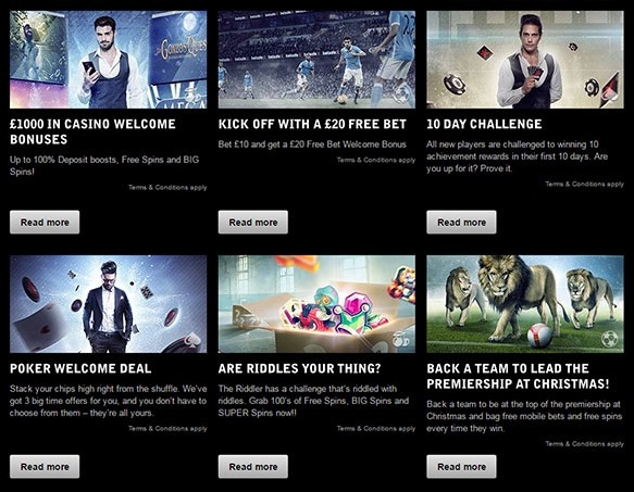 check which are he top betsafe bonuses