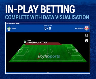 can you go to the boylesports live betting section
