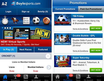 are there mobile apps among boylesports tools & features