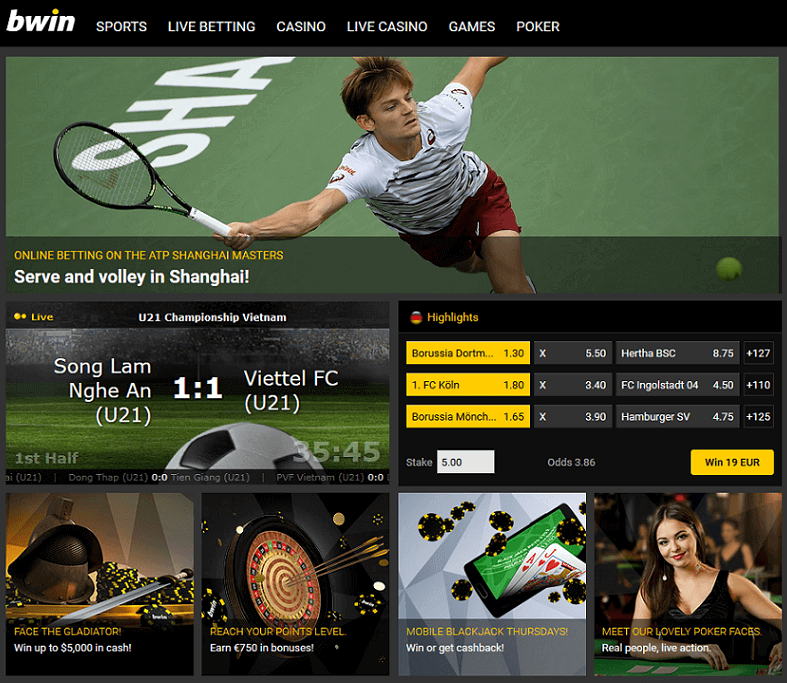 has the bwin been around as long as other bookmakers