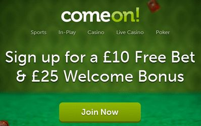 Would you like to use the deposit bonus at ComeOn?