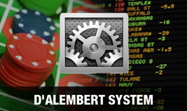 how to adjust the dalembert betting system