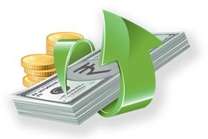 which are the options for depositing cash online