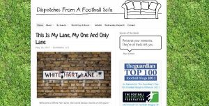 Is dispatches from a football sofa any good?
