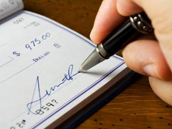 how can you use cheques at betting sites
