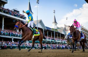 How to find race information about the Kentucky Derby?