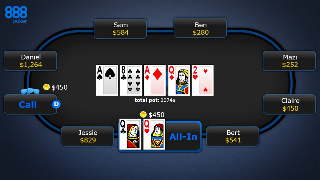 what are the rules to bet on texas holdem at 888poker