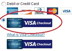can you pay when betting through visa card