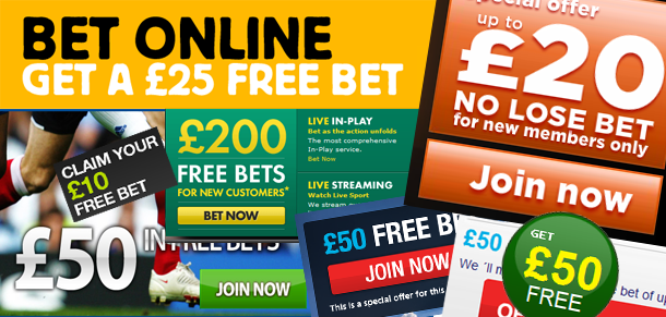 how do gamblers place free bets online