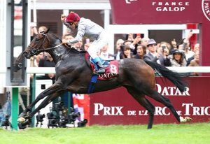History regarding the prix de l'arc de triomphe race!