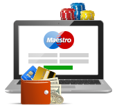 which sites can you bet at with maestro card