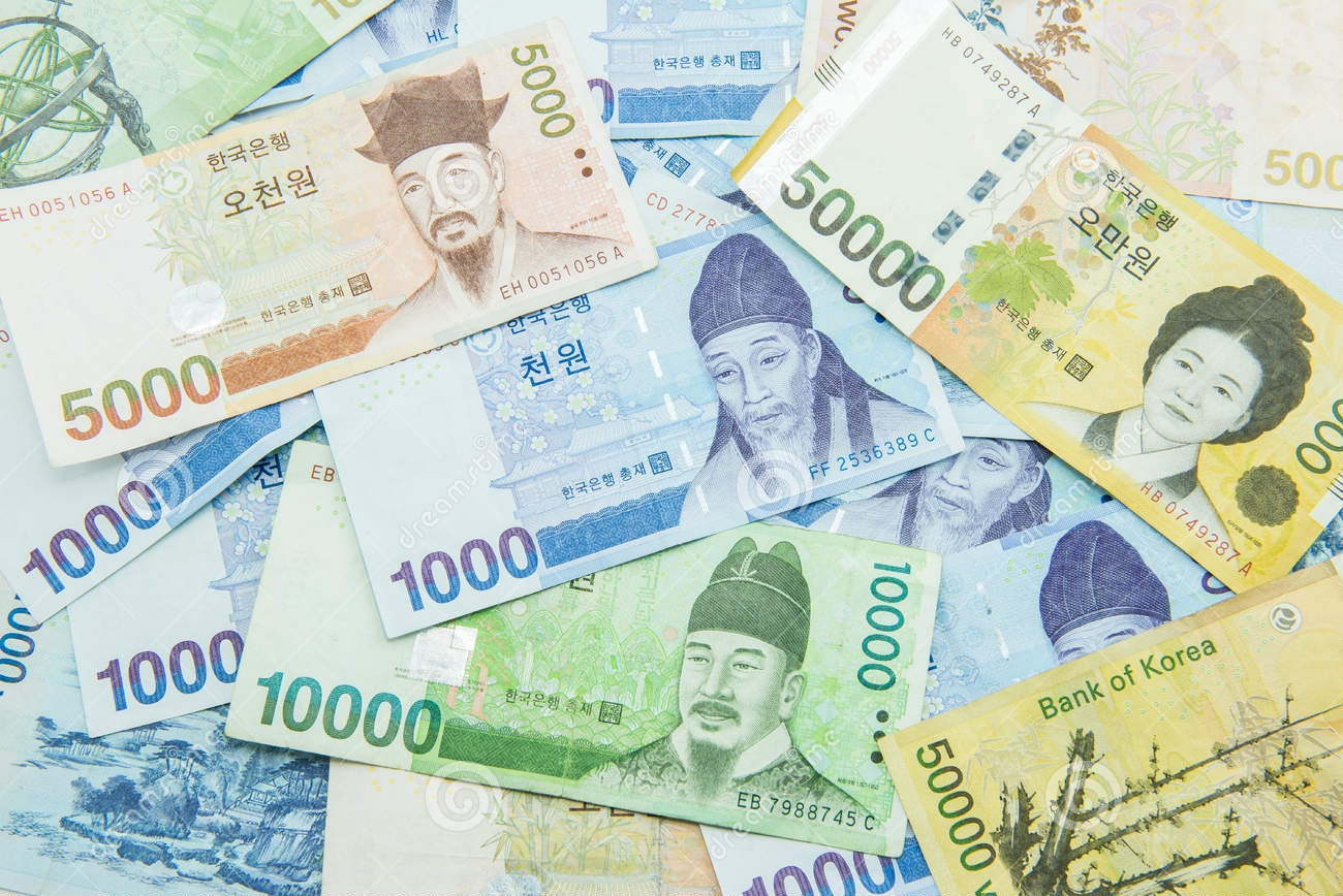 how to make a deposit in south korean won