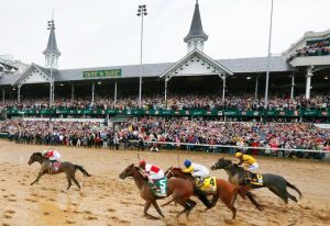 Which are the most important events in the history of the Kentucky race?