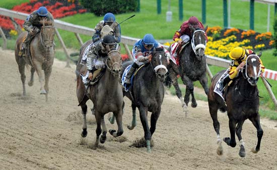 Do the United States have triple crown horse races?