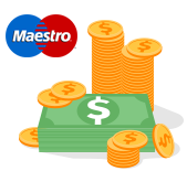 how to use maestro card for online banking